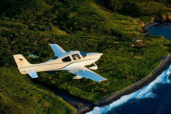 Kahului, Hawaï: Soar along the gorgeous Hawaii coastline