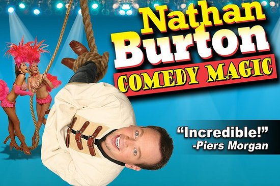 Nathan Burton Magic Show au Planet...