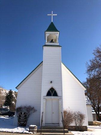 Drummond Methodist Church front view