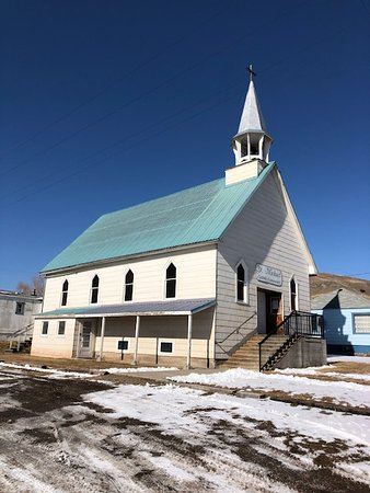 Drummond, MT: St. Michael RC Church From the side