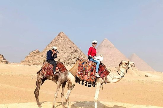 Camel Tour på The Great Pyramids of Giza