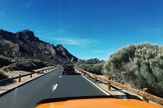 3hr JEEP TOUR VOLCANO TEIDE DIA