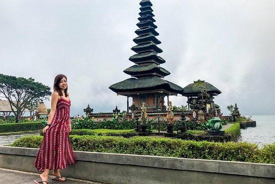 Lake Beratan Temple, Bali Handara Gate...