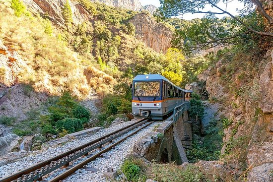 Kalavryta, Rack Railway & Cave of Lakes...