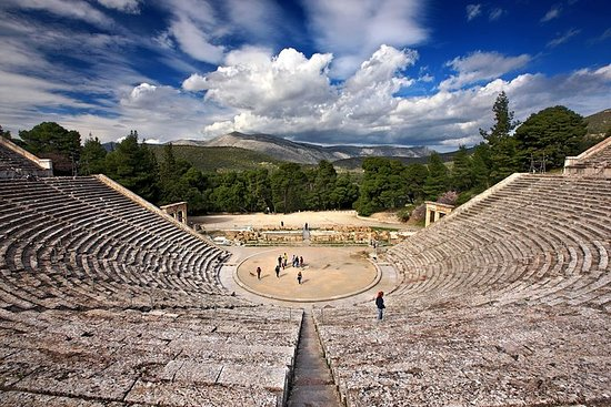 Ancient Corinth, Mycenae, Epidaurus...