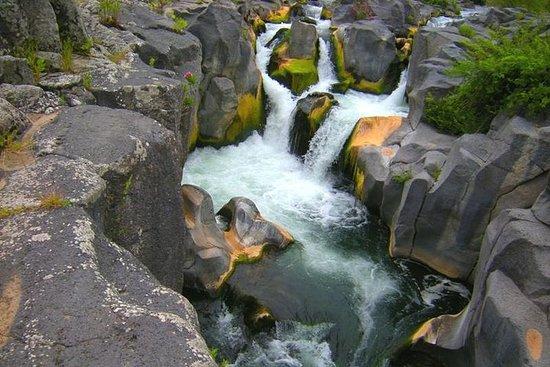 Near Etna - Alcantara's Gurne: the...