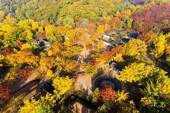 Ville de Séoul et village folklorique...