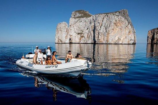 甜麵包船之旅和礦山海岸洞穴