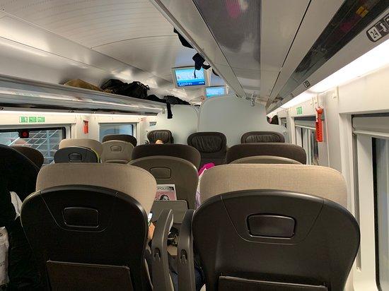 Standard Premier well spaced seating