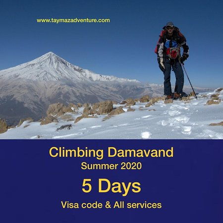 Damavand, Iran: 🌀 5671 meters 🌀summer 2020 🌀5 Days Visa code & All services 🌀For booking tours or more info 💭 instagram Direct 🌀or 🌀contact us: 📱WhatsApp: 00989906103701 📧Email:taymazadventure@gmail.com 💻website:www.taymazadventure..com