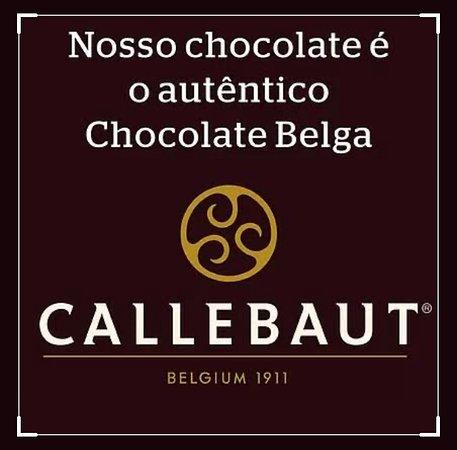 Botucatu, SP: Temos muitos sabores de Brigadeiros Gourmet! Dentre eles o Belga!! Deliis Demais! Belga feito com Chocolate Callebaut, o mais Top dos Chocolates!! Experimente!