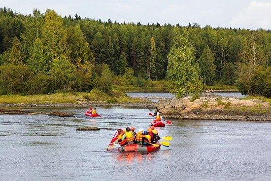Adventurous Rafting Experience along...