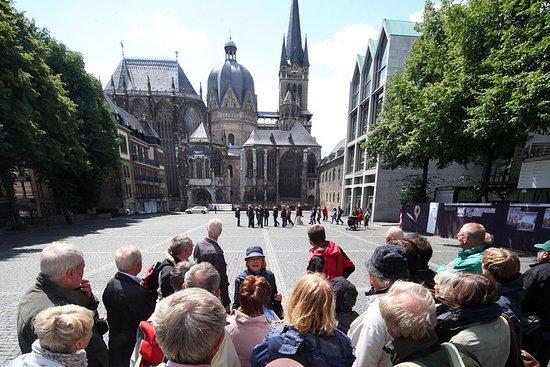 Visite de la vieille ville d'Aachen (public)