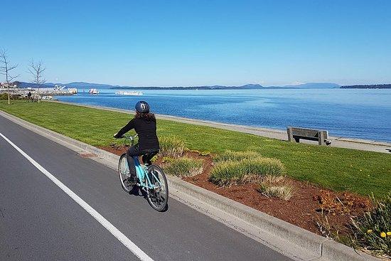 Visite de l'île de Vancouver en vélo avec déjeuner et dégustation de...