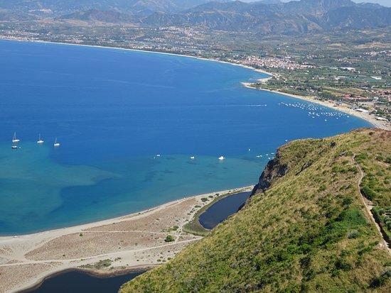 The beaches of Marinello and Laghetti di Marinello from Sentiero Panoramico Coda di Volpe Tindari - Marinello, Sicily