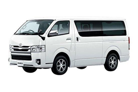 Minivan Toyota HIACE 2019的AWAJI...
