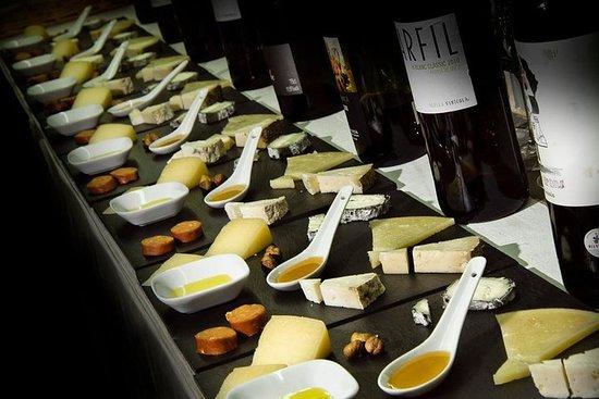 Cata de vino y queso en Barcelona
