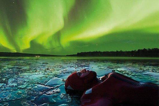 Aurora Ice flottant à Rovaniemi