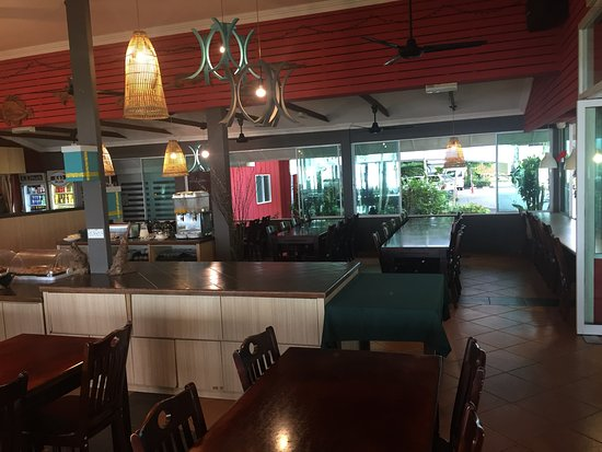 Bar and Restaurant area.