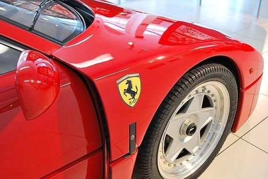 Ferrari parmesanost Balsamico eddik Lambrusco vin og mat PRIVATTUR...