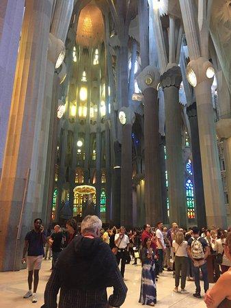 Basilika Sagrada Familia Eintrittskarte mit Turmzugang: Inside