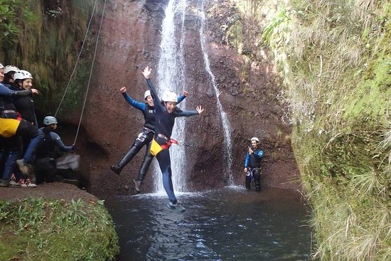 Canyoning sull'isola di Madeira con
