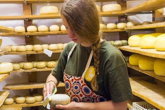 Holanda en bicicleta de queso más...
