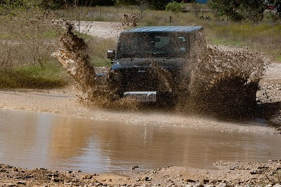 Safari fora de estrada de riga