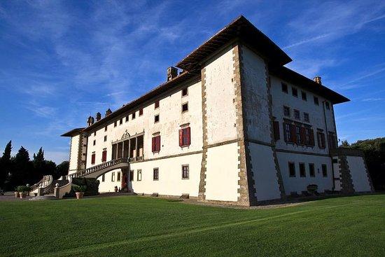 Privat tur til Villa Artimino og...