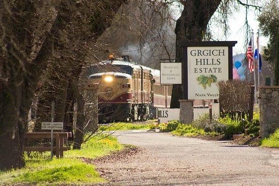 Napa Valley Vin Train fra San...