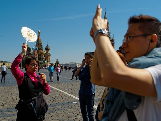 La Plaza Roja y Kitay-górod: happy international tour guide day! 國際導遊節快樂!Поздравляю с международным днем гида!