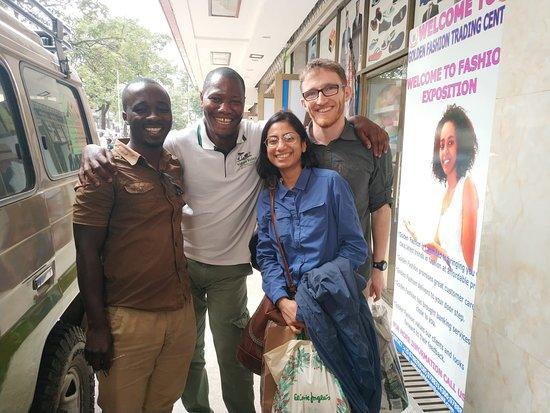 5 Day Gorillas, Wildlife and Chimpanzee Trekking Safari: Joseph (Guide) and Vincent (Driver)