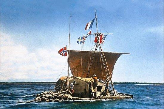 Ingresso de entrada normal para o Museu Kon-Tiki