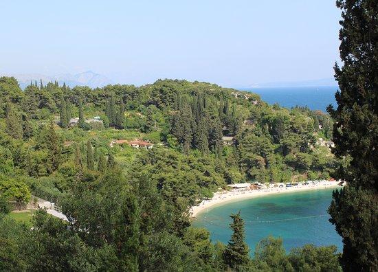 View taken from Marjan Hill, Split