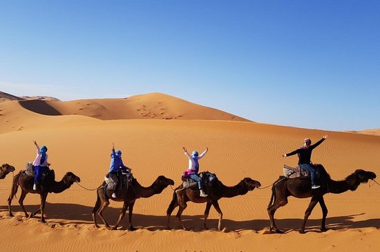 Marrakech to Fes Desert Trips