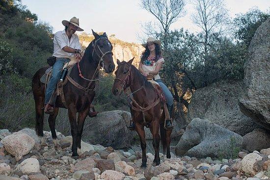 Aventura de medio día de equitación