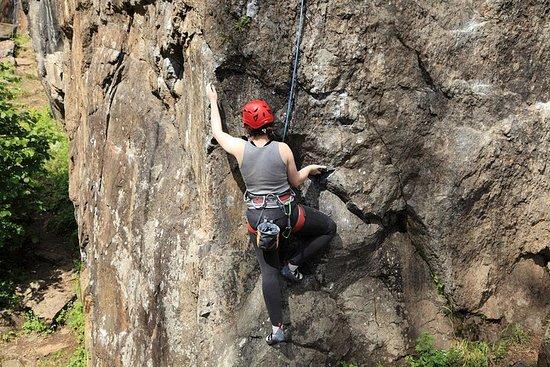 Intro til Utendørs klatring