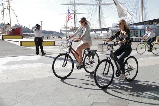 See NYC by Land and by Sea with Unlimited Biking Photo