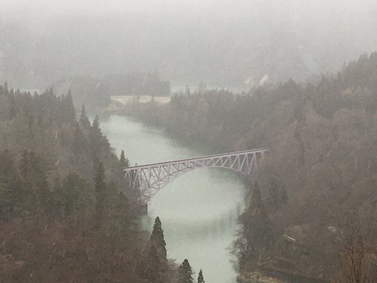 No.1 Tadami River Bridge View Point