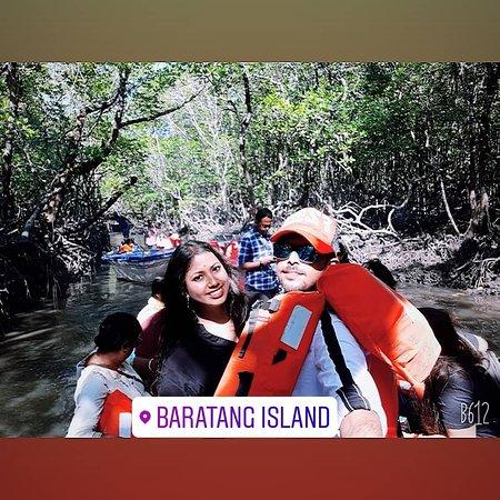 Baratang Island Limestone Cave & Mud Volcano Andaman Day Trip: BARATANG inland