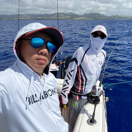 Cocos Island, Quần đảo Mariana: Nice fishing day but harvest was not what I expected 😅
