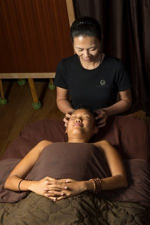 Pressure points on the head carry so much stress, they need massage.