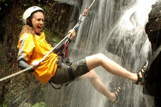 Canyoneering and Canopy Tour in...