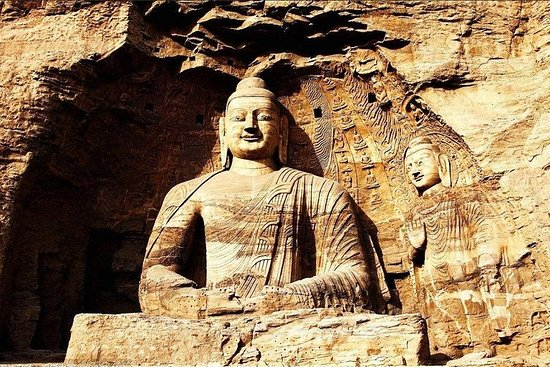 Suspended Temple and Yungang Caves