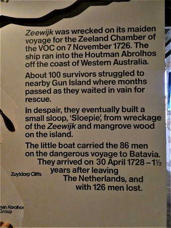 about the 'Zeewijk' shipwreck
