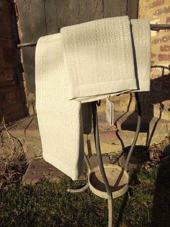 Asciugamani in canapa Towels in hemp Handtuecher aus Hanf