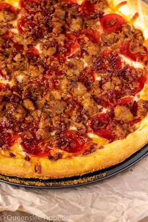 Lebanon, IL: Brewers Large Meat Lovers Pizza only $13.99!