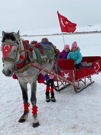 Arpacay, Turkey: Yunusun yeri Çıldır Gölü