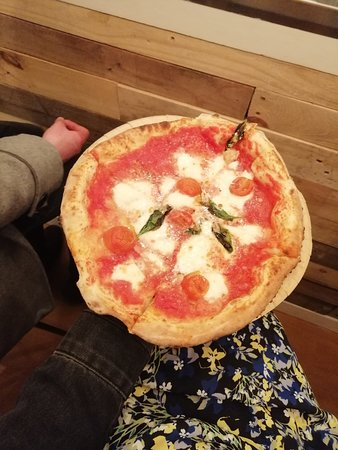 Wonderfully Wood fired pizza