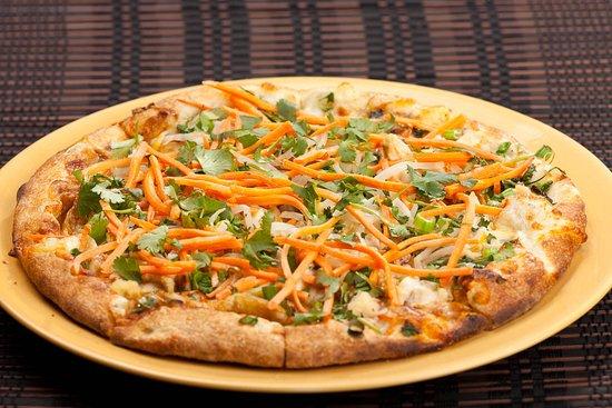 Thai Chicken Pizza.